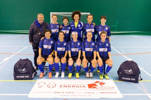 La squadra Femminile del PSN ANTENORE ENERGIA che milita nella Serie C FEM - Gir. UNICO