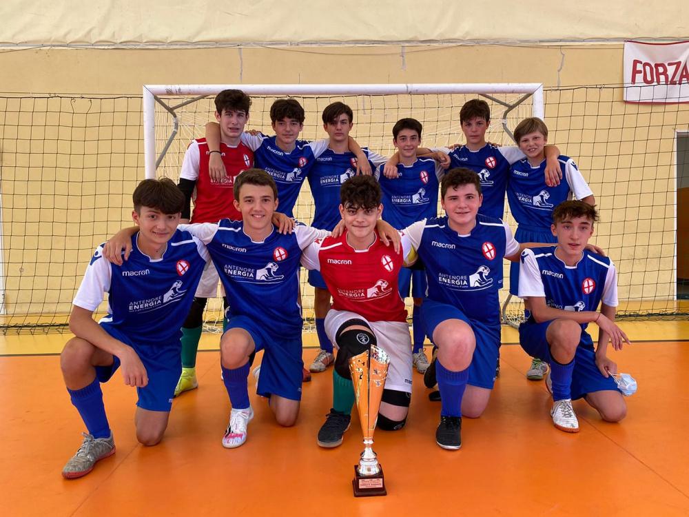 """ANTENORE SPORT PADOVA si aggiudica il Trofeo """"Roberto Quaranta"""" Categoria Under 15"""
