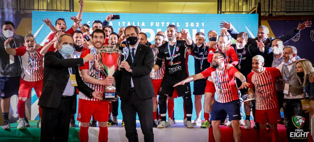 Italservice Pesaro vincente Coppa Italia di Serie A