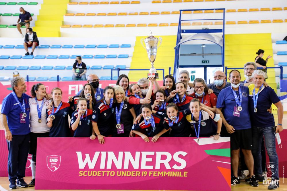 FB5 TEAM ROME vincente Scudetto Under 19 Nazionale Femminile