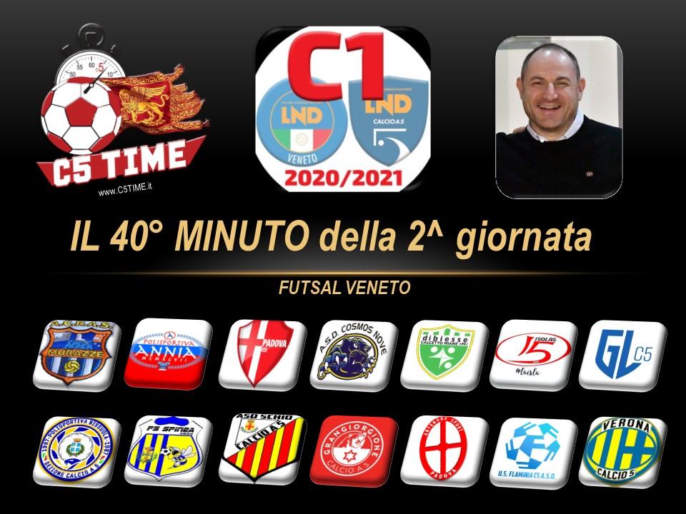 C1: IL 40° MINUTO della 2^ GIORNATA [Ufficio Stampa C5TIME Veneto]