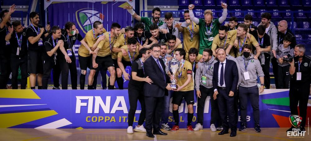 Eur Massimo C5 vincente Coppa Italia di Serie B