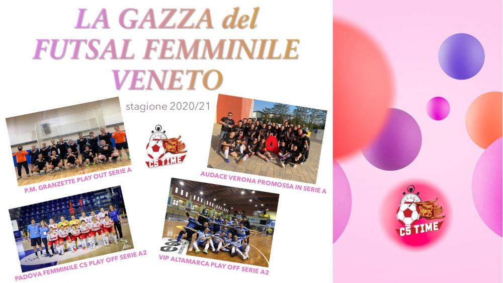 LA GAZZA del FUTSAL FEMMINILE VENETO N° 27-02.05
