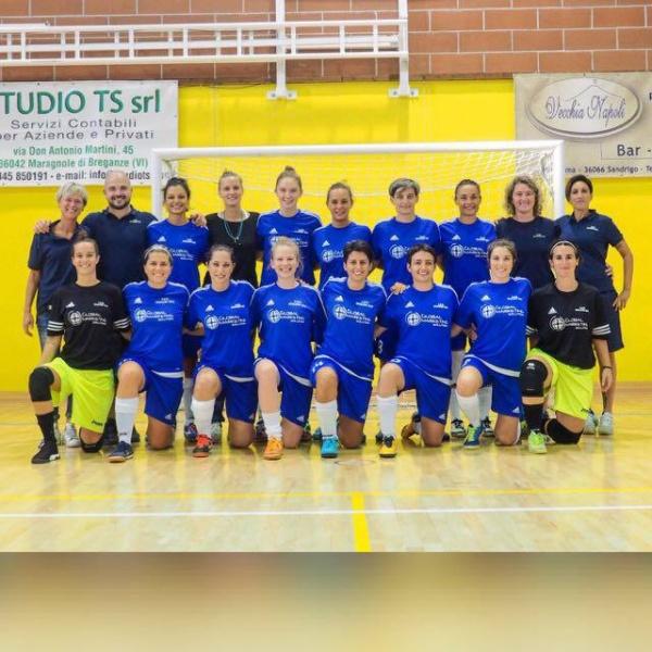 La squadra Femminile della NOALESE Serie A2 FEM - Gir. A 2018/19