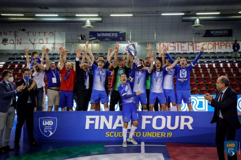 SICURLUBE FUTSAL REGALBUTO vincente Scudetto U19 Nazionale 2020/21