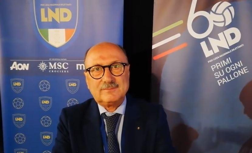 Giuseppe Ruzza Presidente del Comitato Regionale Veneto LND
