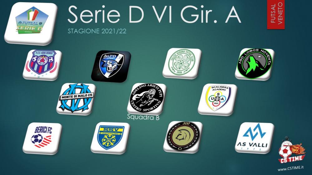 Serie D VI - Gir. A 2021/22