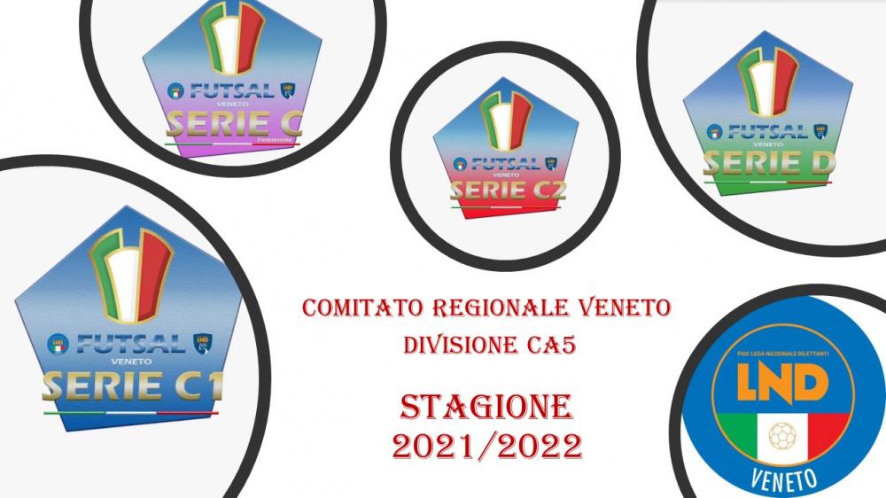 Comitato Regionale Veneto Divisione Ca5 Stagione 2021-2022