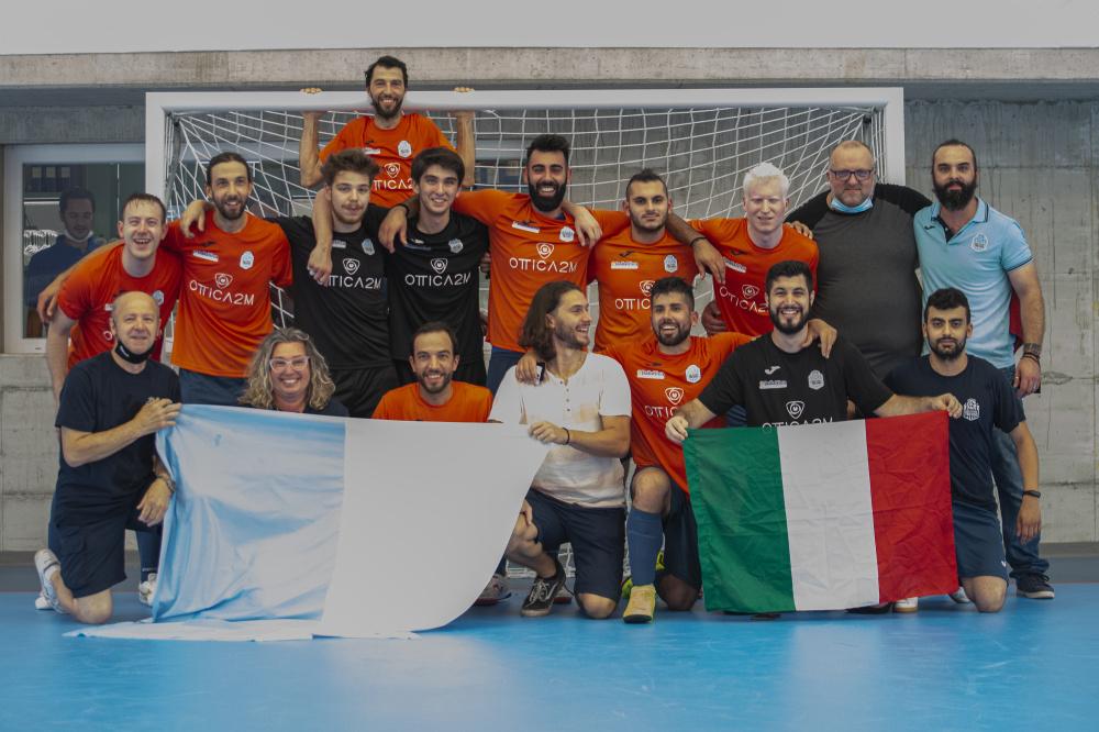 FUTSAL TREVISO Campione d'Italia FISPIC