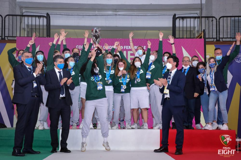 Florida C5 vincente Coppa Italia Under 19 Nazionale Femminile